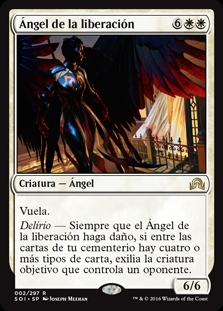 Ángel de la liberación - Angel of Deliverance